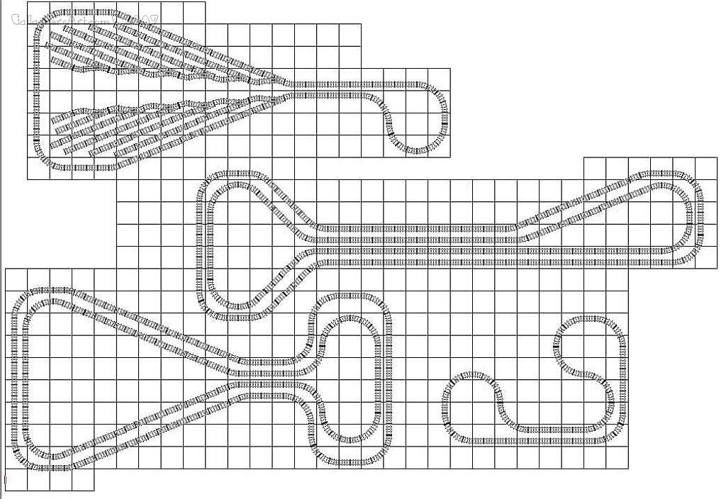 LEGO train track study turn around from Lego Train Track Geometry