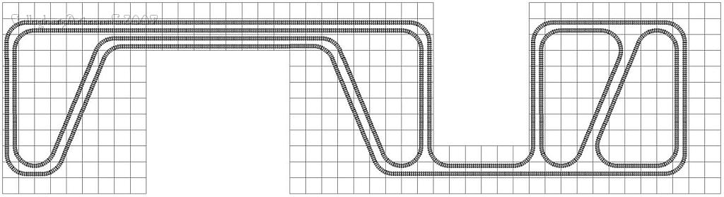 LEGO train track study angles from Lego Train Track Geometry