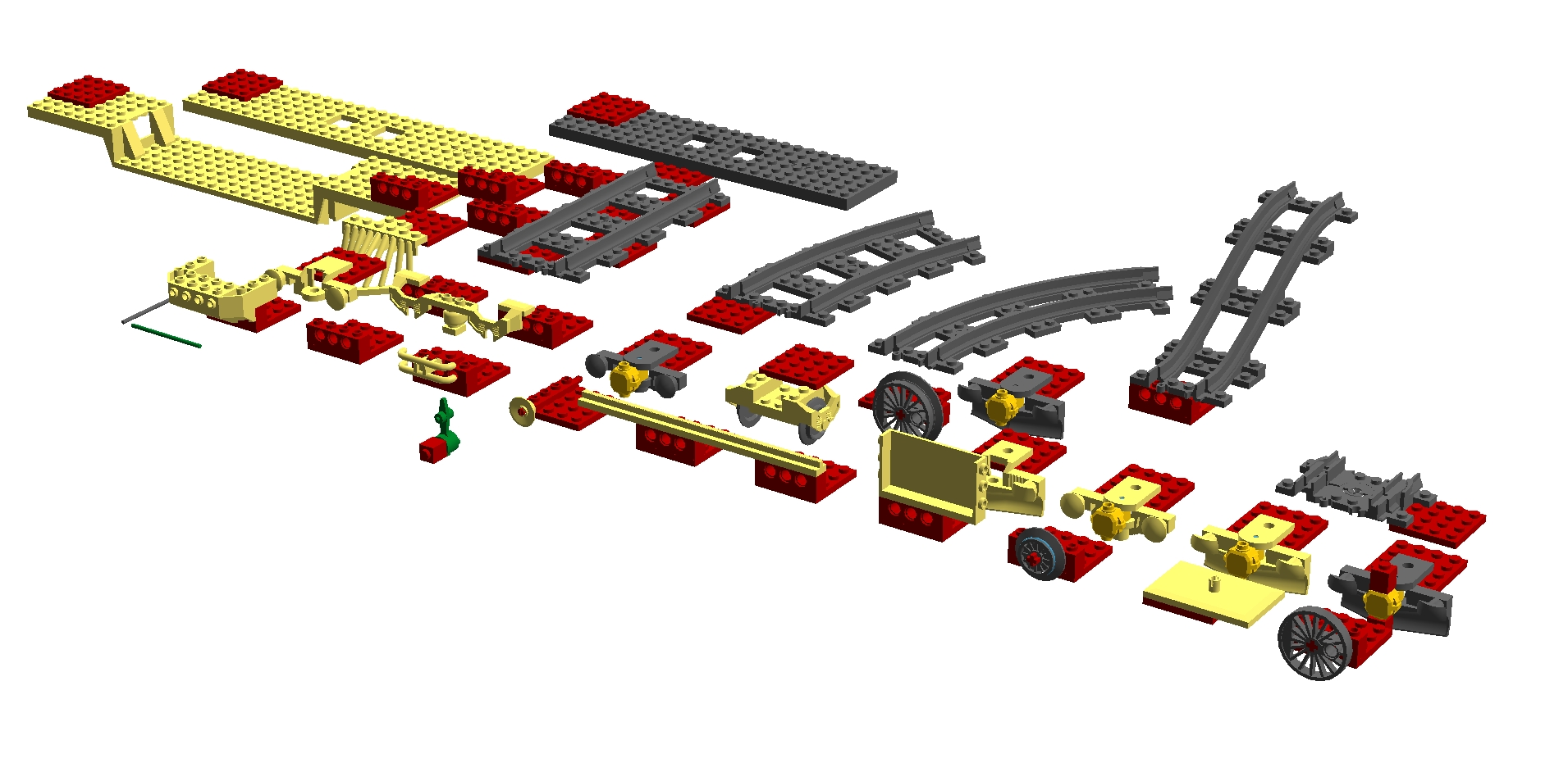 Parts Group 27 from Current LDraw.xml 4.40