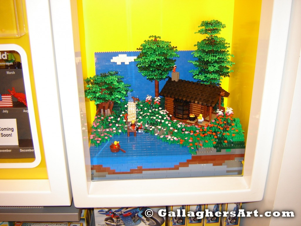 from My Log Cabin at a LEGO store GallaghersArt_DSC03089.jpg