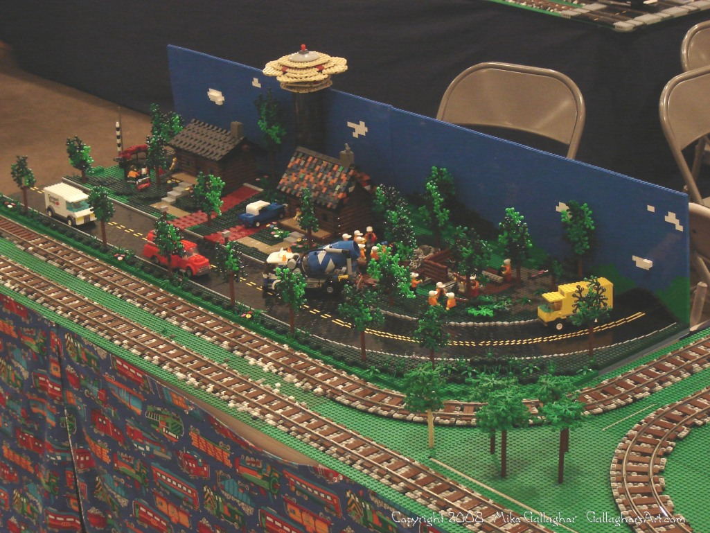 Dsc02526 1 from Ohio State Fair 2008 GallaghersArt_dsc02526_1.jpg - My part of the COLTC LEGO display.