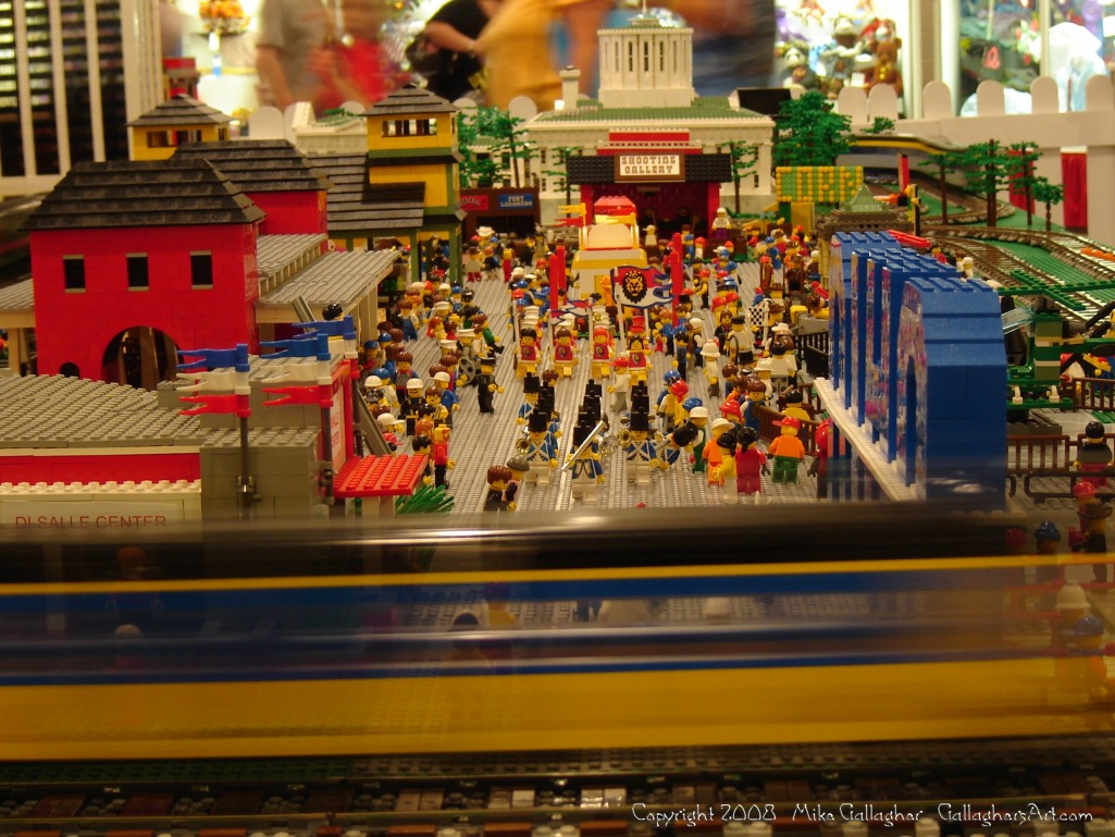 Dsc02553 1 from Ohio State Fair 2008 GallaghersArt_dsc02553_1.jpg - My part of the COLTC LEGO display. Vehicles made by other COLTC members