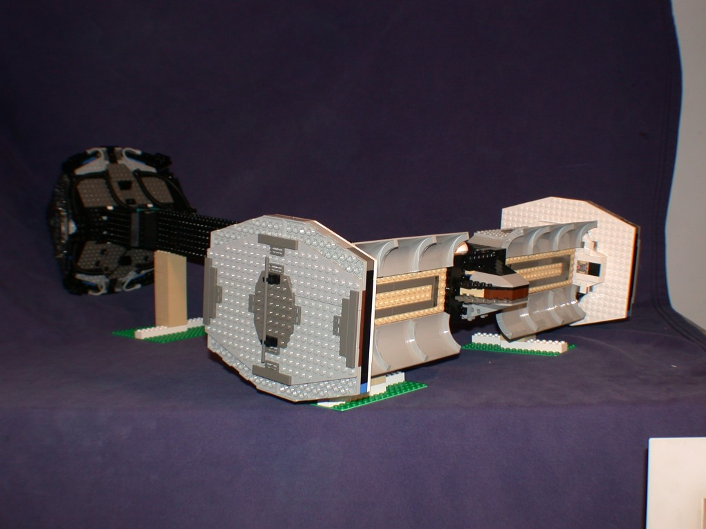 Side rear open bays from LEGO Space Mother Ship GallaghersArt_side_rear_open_bays.jpg