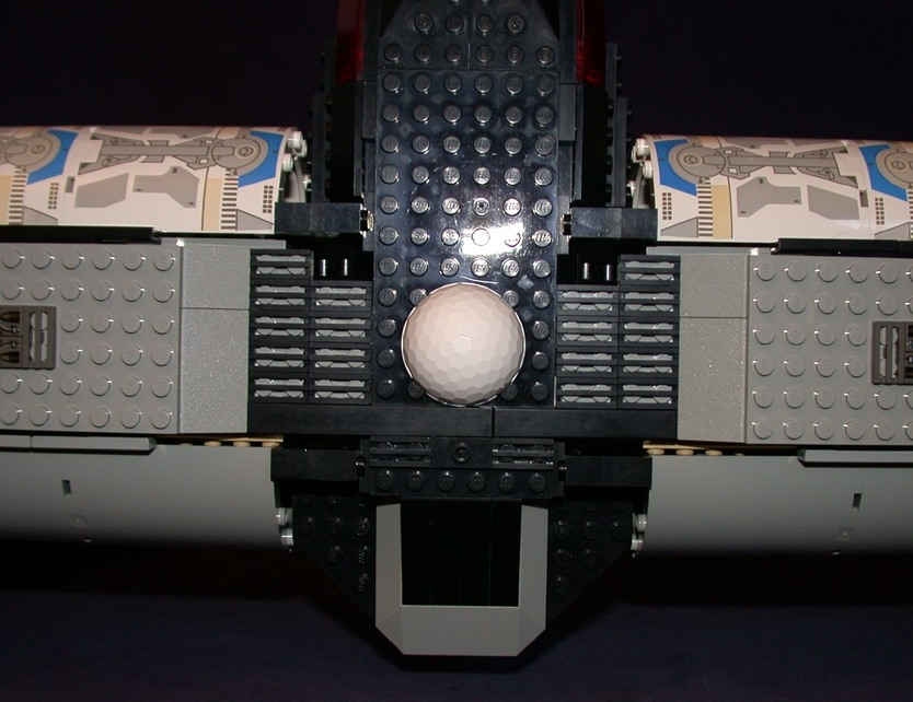 Top rear junction from LEGO Space Mother Ship GallaghersArt_top_rear_junction.jpg