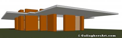 Front side view from Rammed Earth Designs 2 and 3 GallaghersArt_block_001_3D_front.jpg - Front side view