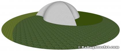 3D view from Fibonacci Inspired Dome GallaghersArt_fdome_003_3d.jpg - 3D view