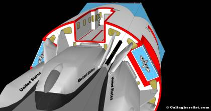 Configured habitable spacecraft from Idea for Future Space Flight hab_nav_05_cargo01.jpg - Configured habitable spacecraft with 6 modules with spacecraft docked