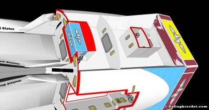from Idea for Future Space Flight hab_nav_05_g.jpg - Non cargo module with outer skin removed