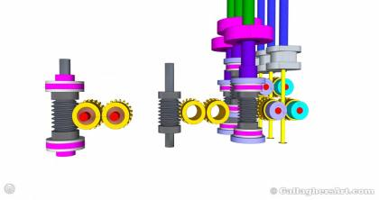 Gallaghersart gears 69 g05 20t b from My 3D Printer Designs gallaghersart_gears_69_g05_20t_b.jpg - 3x Remote Large Dual Gears Filament Extruder ver. 0.2 - Custom 05 20t Worm Gears