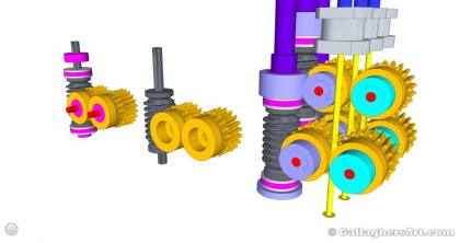 Gallaghersart gears 69 g08 20t a from My 3D Printer Designs gallaghersart_gears_69_g08_20t_a.jpg - 3x Remote Large Dual Gears Filament Extruder ver. 0.02 - Custom 08 20t Worm Gears