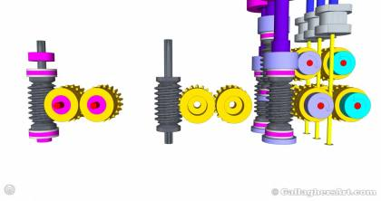 Gallaghersart gears 69 g08 20t b from My 3D Printer Designs gallaghersart_gears_69_g08_20t_b.jpg - 3x Remote Large Dual Gears Filament Extruder ver. 0.02 - Custom 08 20t Worm Gears