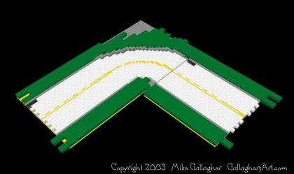 My Very First LEGO Custom Roads from Misc Custom LEGO Roads GallaghersArt_Road02.jpg - My Very First LEGO Custom Roads