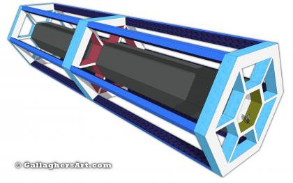 launch vehicle from Idea for Future Space Flight LV_Structure_v8.jpg - The is the core structure of the launch container
