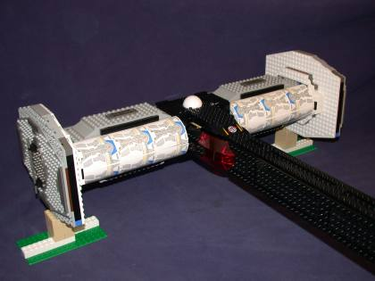 Bay 01 from LEGO Space Mother Ship GallaghersArt_bay_01.jpg - Rear bays Closed