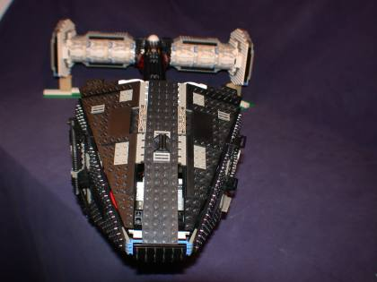 D front nose 07 from LEGO Space Mother Ship GallaghersArt_d_front_nose_07.jpg - Front