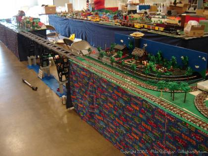 Dsc02464 1 from Ohio State Fair 2008 dsc02464_1.jpg - My part of the COLTC LEGO display.