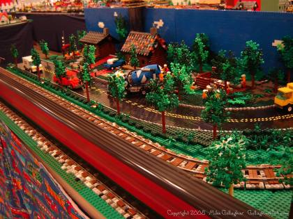 Dsc02547 1 from Ohio State Fair 2008 dsc02547_1.jpg - My part of the COLTC LEGO display. Vehicles made by other COLTC members