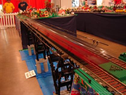 Dsc02557 1 from Ohio State Fair 2008 dsc02557_1.jpg - My part of the COLTC LEGO display. Vehicles made by other COLTC members