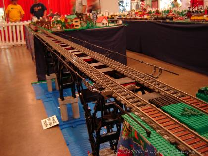 Dsc02558 1 from Ohio State Fair 2008 dsc02558_1.jpg - My part of the COLTC LEGO display. Vehicles made by other COLTC members