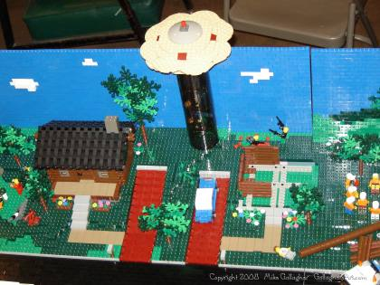 Dsc02575 from Ohio State Fair 2008 dsc02575.jpg - My part of the COLTC LEGO display. Vehicles made by other COLTC members