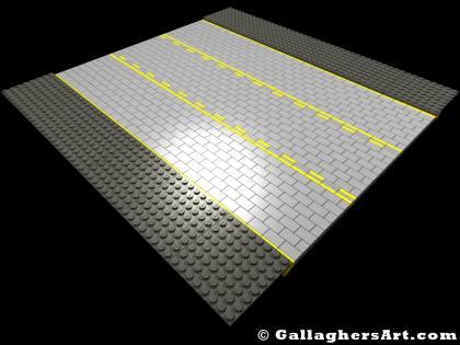Custom Modular LEGO SNOT Roads version SP01 | GallaghersArt