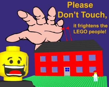 from COLTC LEGO Signs GallaghersArt_attack_of_the_hand.jpg