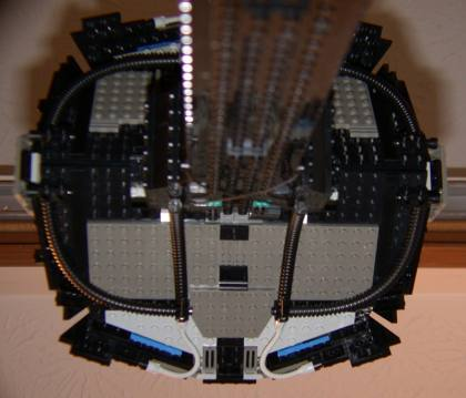 Front from rear from LEGO Space Mother Ship GallaghersArt_front_from_rear.jpg