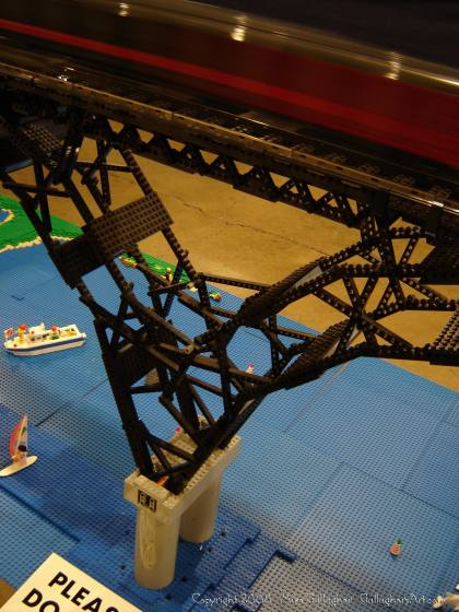 Dsc02560 1 from Ohio State Fair 2008 dsc02560_1.jpg - My part of the COLTC LEGO display. Vehicles made by other COLTC members